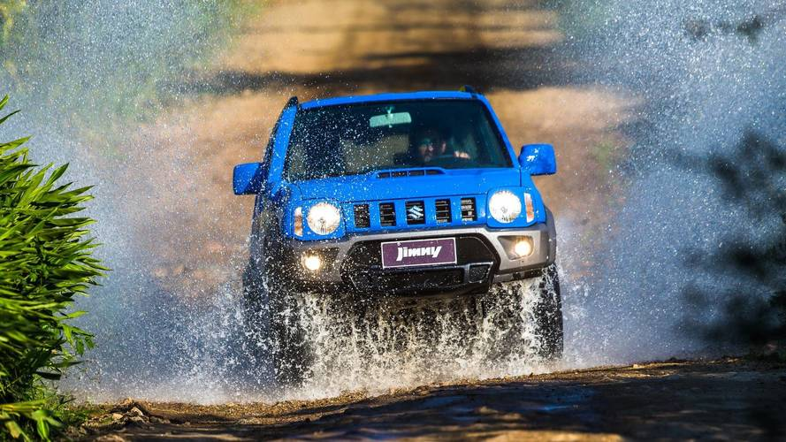 Suzuki Jimny 2018 ganha central multimídia e novo painel