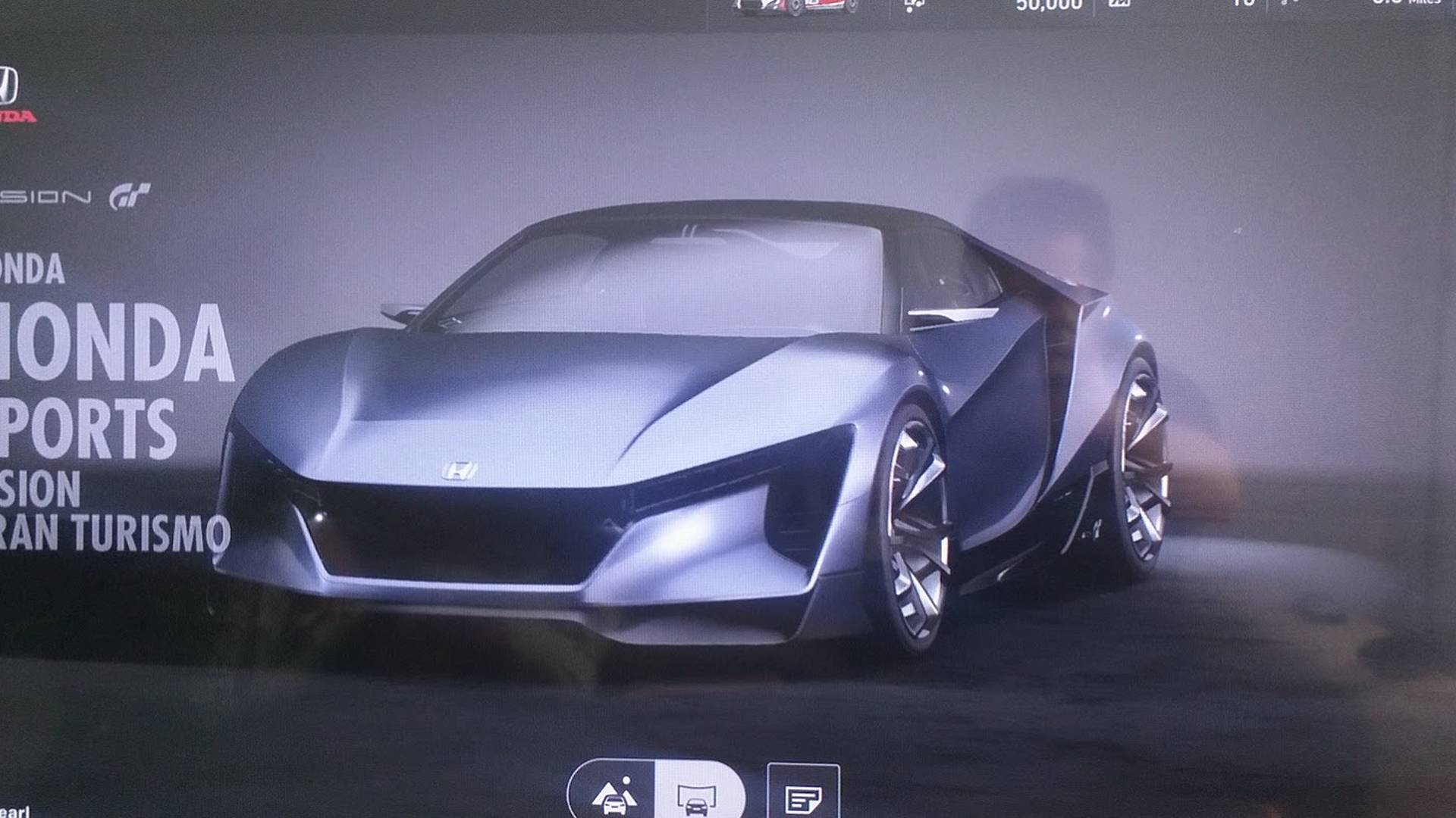 Hondas Baby NSX Is Actually The Sports Gran Turismo Concept