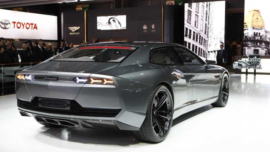 Lamborghini four-door saloon due 2021?