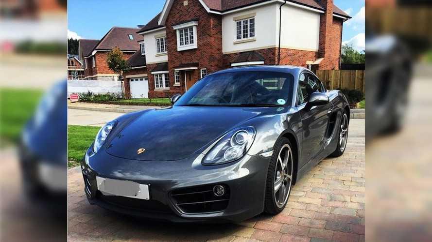 Il vend sa très jolie Porsche Cayman pour seulement 22 euros