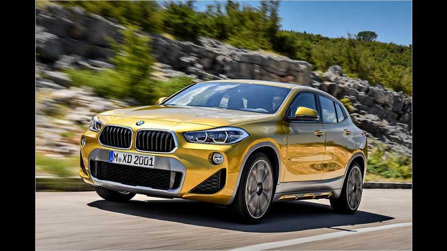BMW X2: Coupé-SUV im Kompaktformat