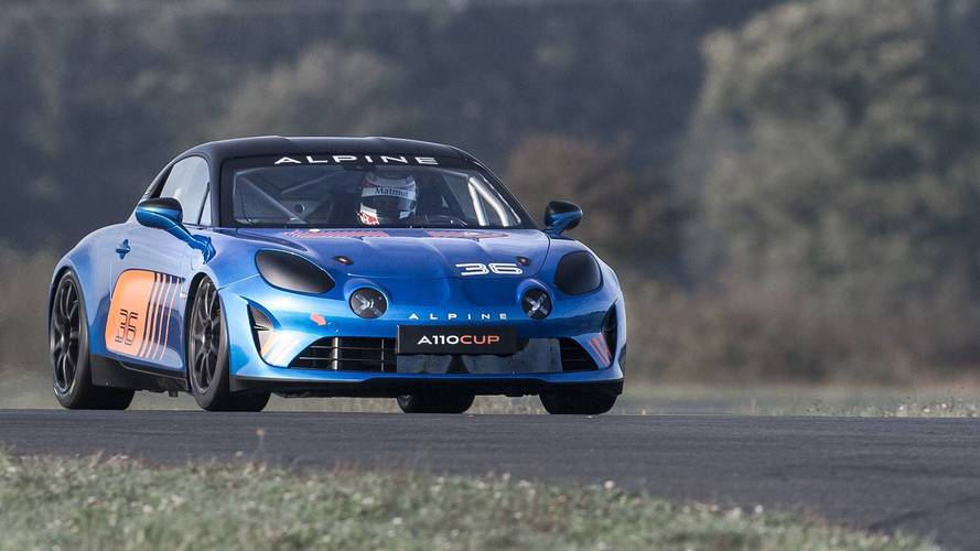 Alpine A110 Cup Is Ready For European One-Make Race Series
