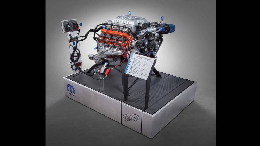 Dodge Hellcrate Hellcat Crate Engine Kit