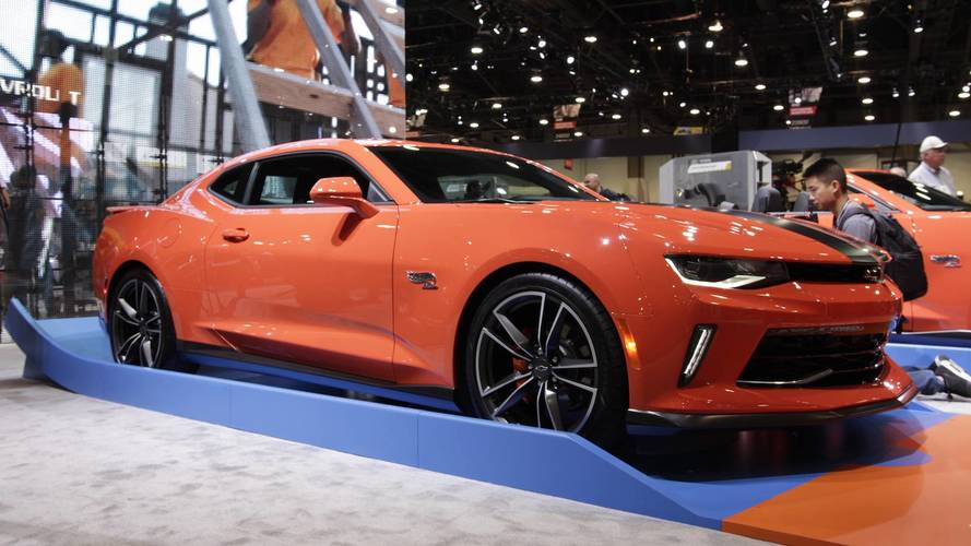 Chevrolet Camaro 2018 Hot Wheels Edition