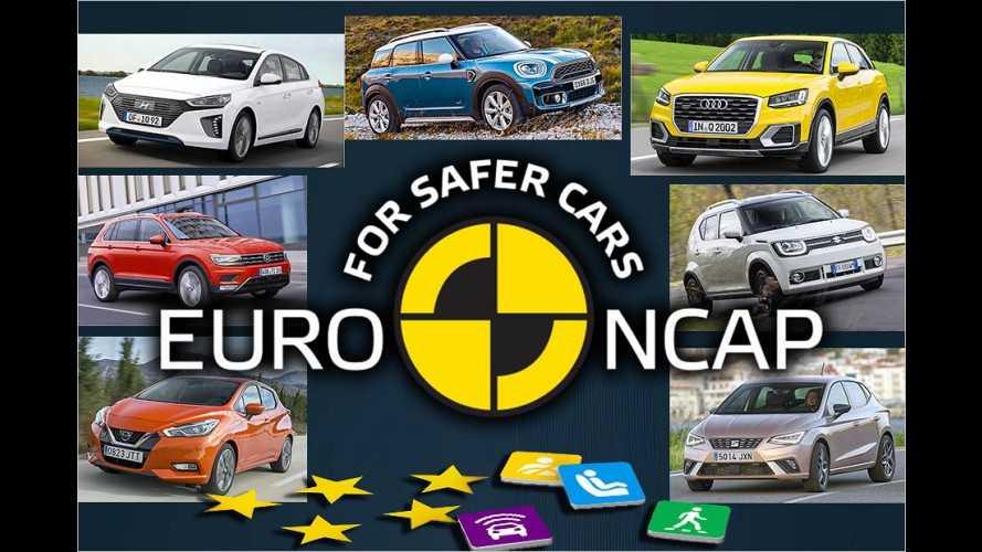 Die günstigsten Autos mit fünf EuroNCAP-Sternen