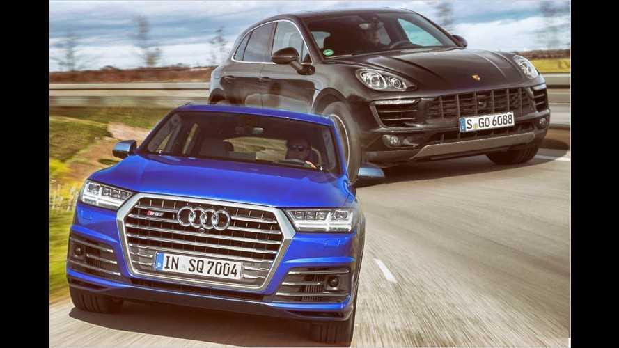 Die stärksten Diesel-SUVs der wichtigsten Marken