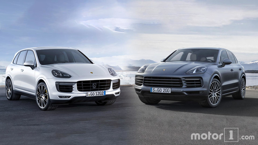 New Porsche Cayenne: See The Changes Side-By-Side