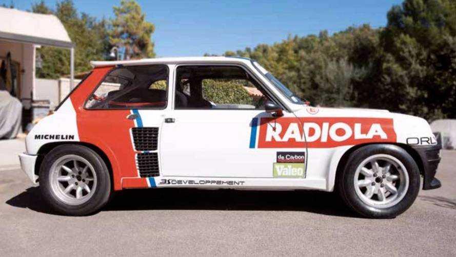 Enchères - Une Renault 5 Turbo