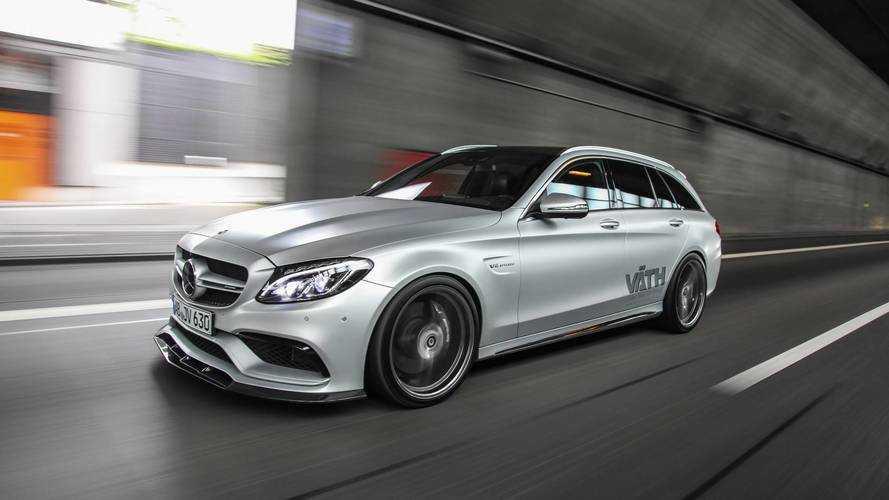 VÄTH crea el Mercedes-AMG C 63 S Estate más deportivo