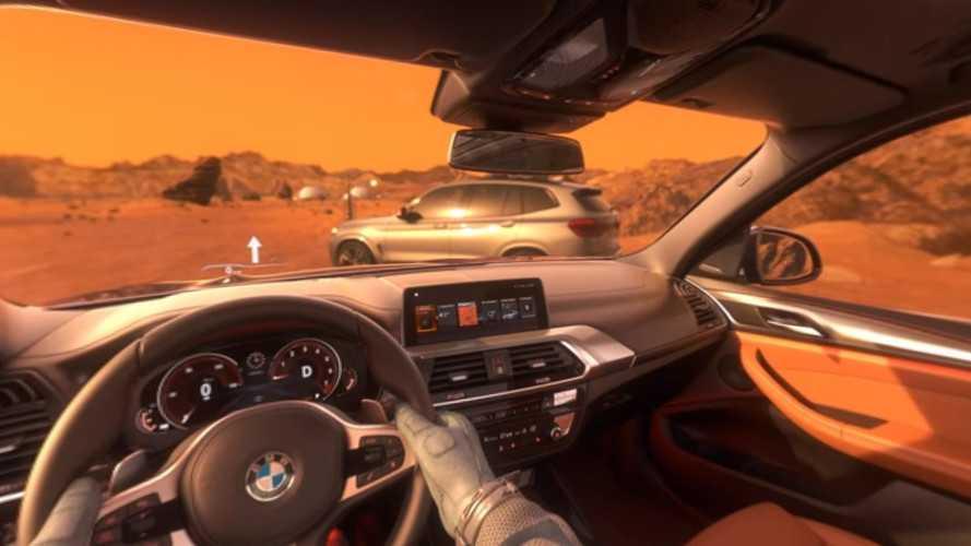 Le BMW X3 vous emmène sur Mars