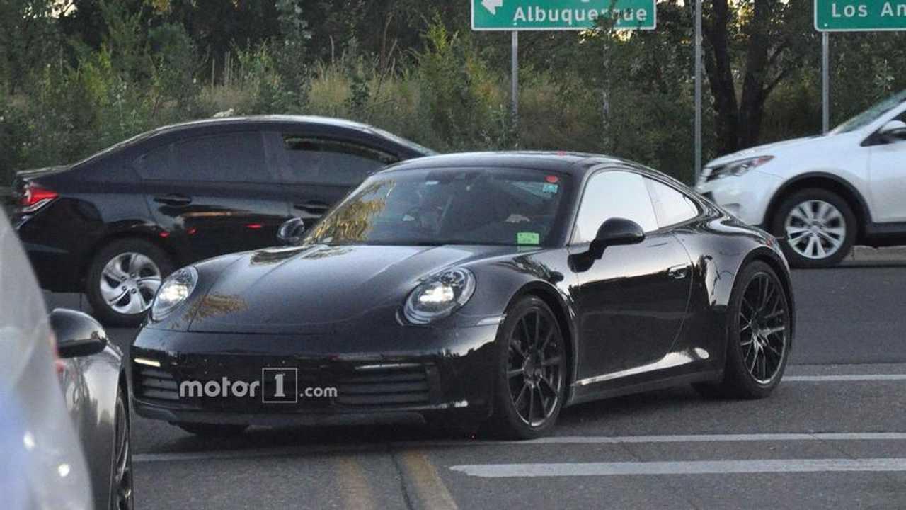 Porsche 911 Prototype With Digital Gauges