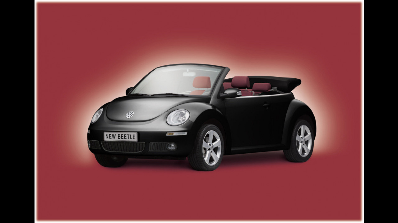 Volkswagen New Beatle Cabriolet Red Edition