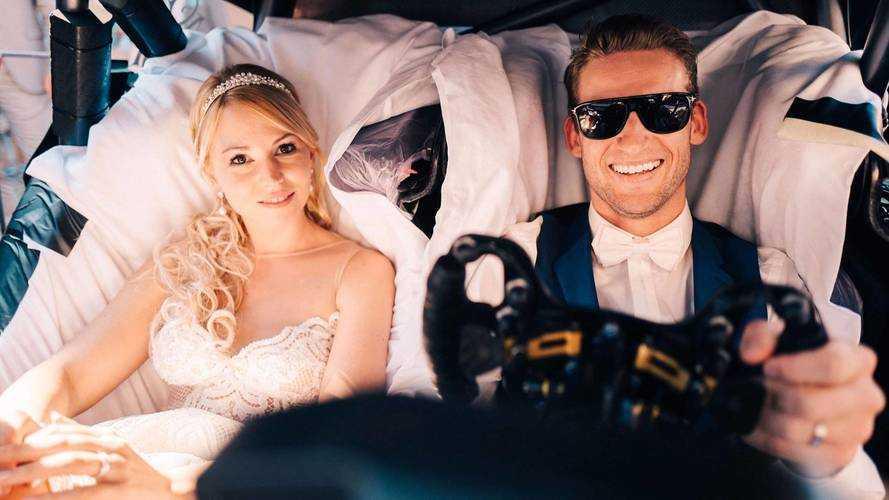 Mercedes AMG DTM wedding