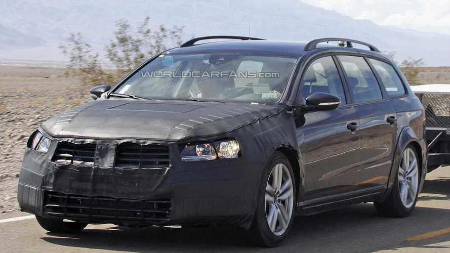 2015 Volkswagen Passat spied testing in United States