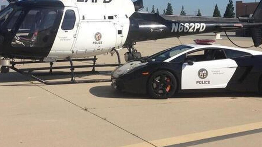 Los Angeles Police gets a second-hand Lamborghini Gallardo