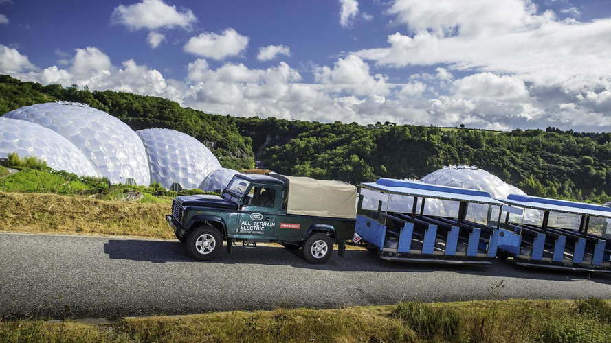 Land Rover Electric Defender begins testing