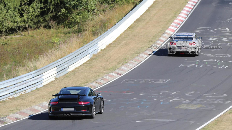 2014 Nissan GT-R Nismo spied testing on Nurburgring [video]