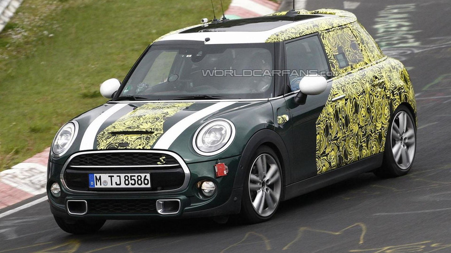 2015 MINI Cooper five-door hatchback spy photo