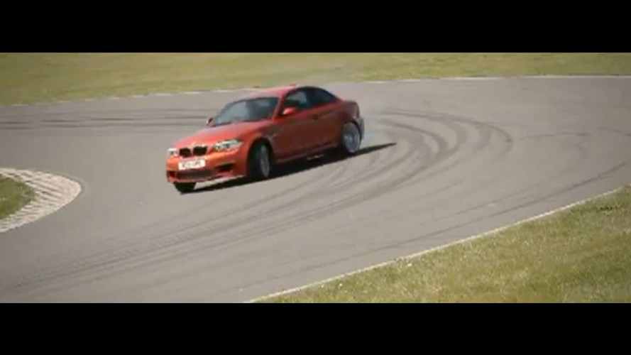 BMW Serie 1 M Coupé: drifting in video