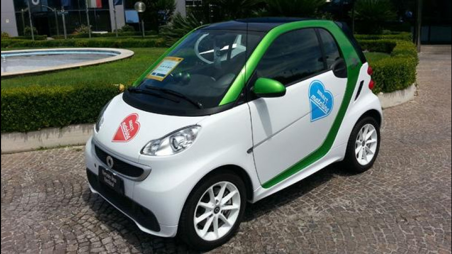 smart electric drive, usata costa 14.900 euro