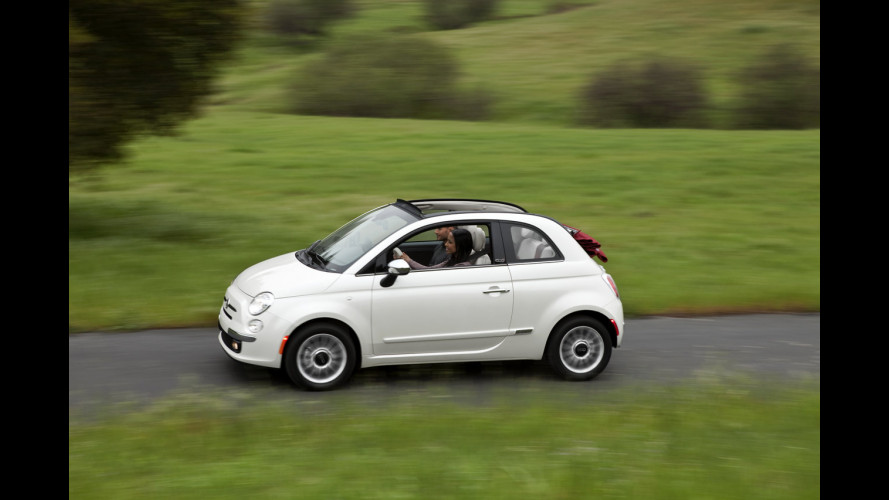 Fiat 500 Cabrio: debutto al Salone di New York
