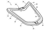 Mid-engine Corvette glass patent