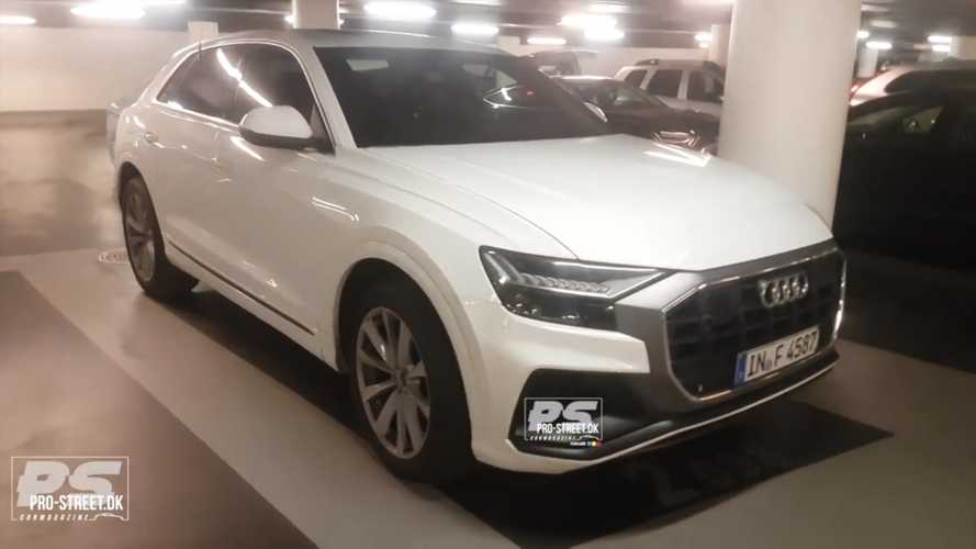 Audi SQ8 Spied Undisguised With Diesel Engine