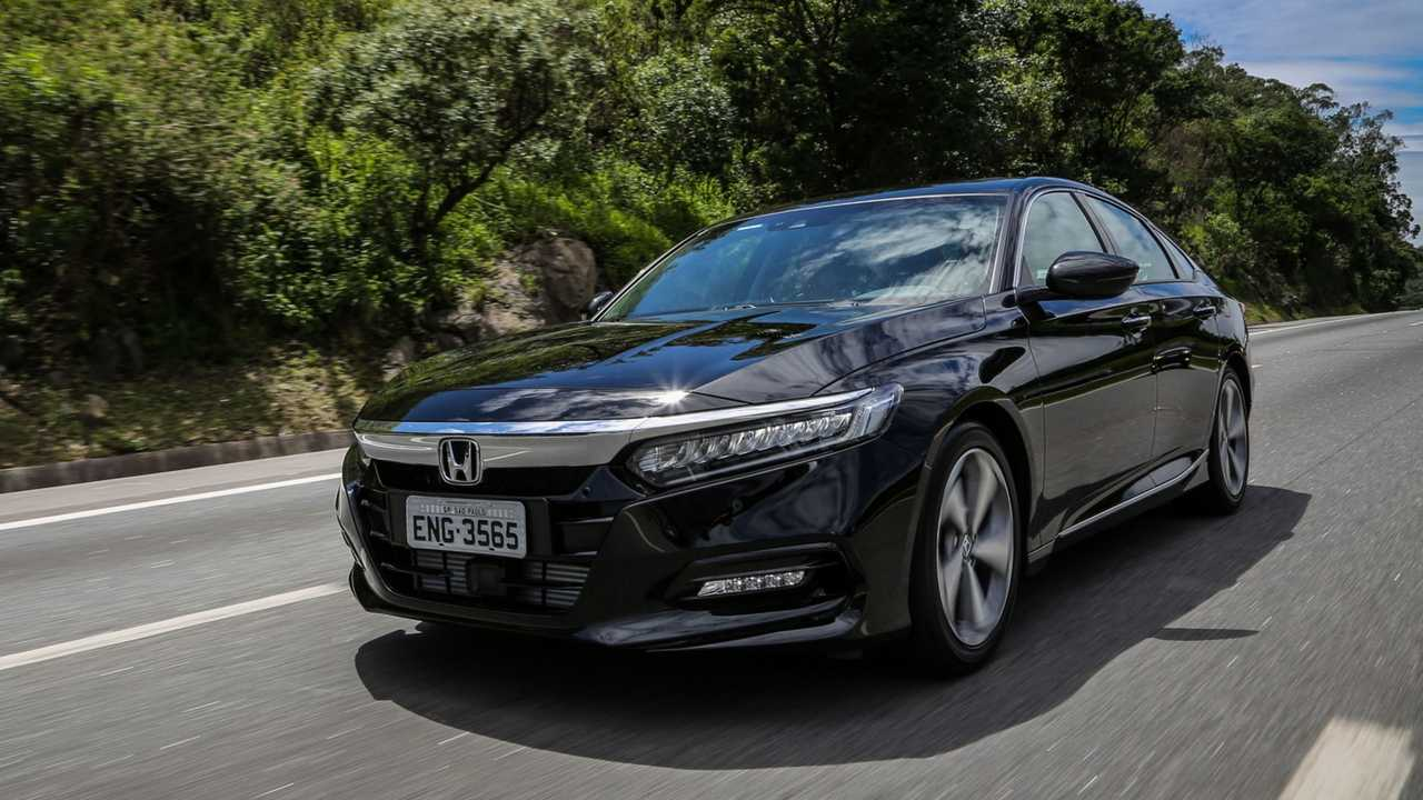 Primeiras Impressoes Novo Honda Accord 2019 Executivo De Alta Performance