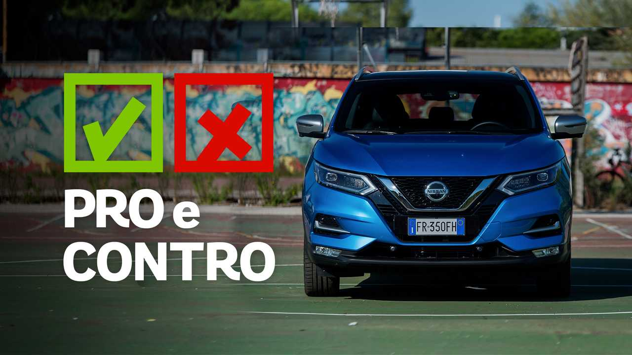 Nissan Qashqai 1.6 dCi XTronic Tekna+, pro e contro