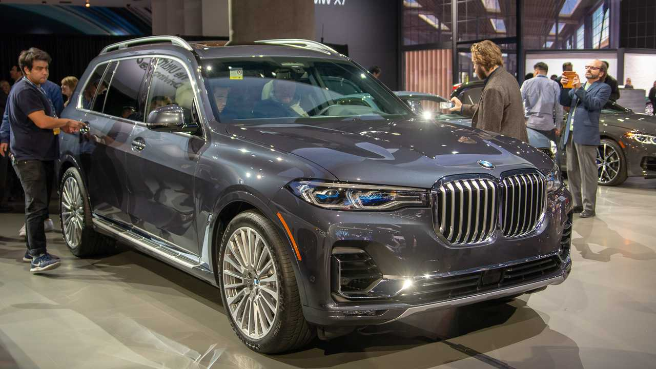 2019 bmw x7 at the 2018 los angeles auto show | motor1 photos