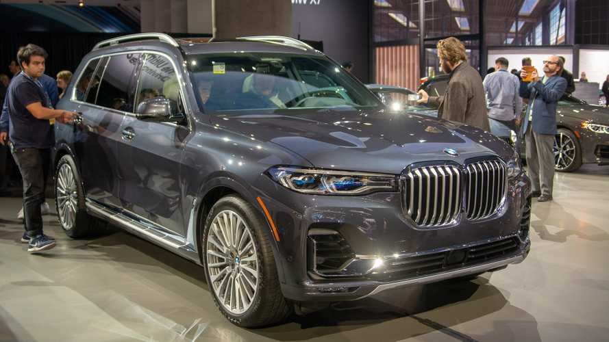 BMW X7 Makes North American Debut At LA Auto Show