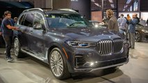 2019 BMW X7 at the 2018 Los Angeles Auto Show