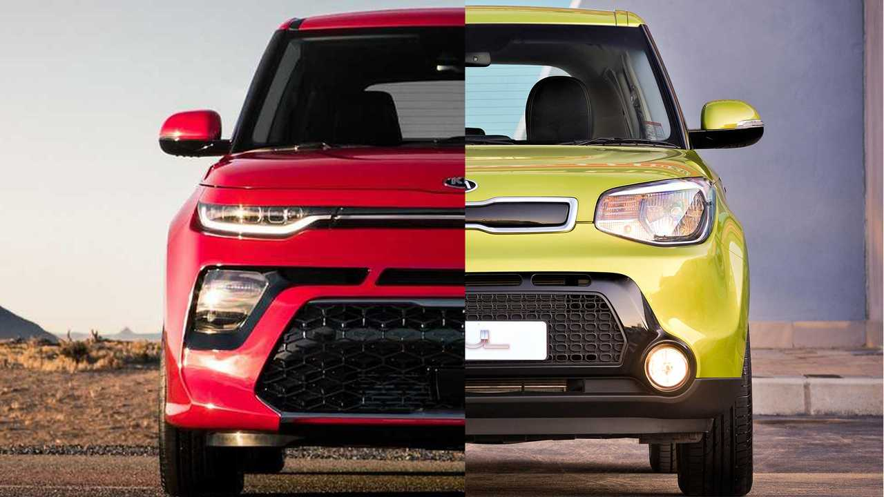 Kia soul side by side