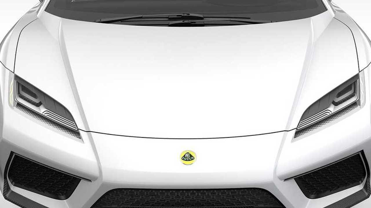 Lotus Esprit motorháztető közelről
