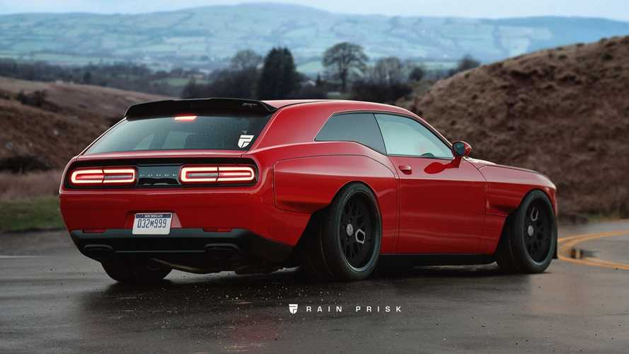 La Dodge Challenger SRT Demon virtuellement transformée en break de chasse