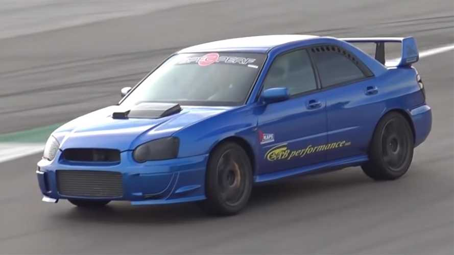 800-bhp Subaru Impreza with sequential gearbox sounds amazing