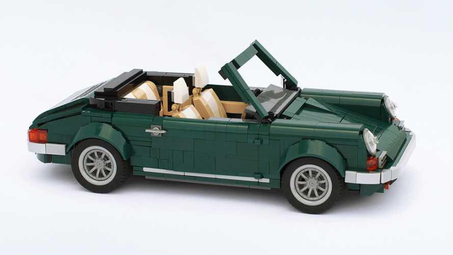 Une Porsche 911 cabriolet imaginée par un fan de Lego