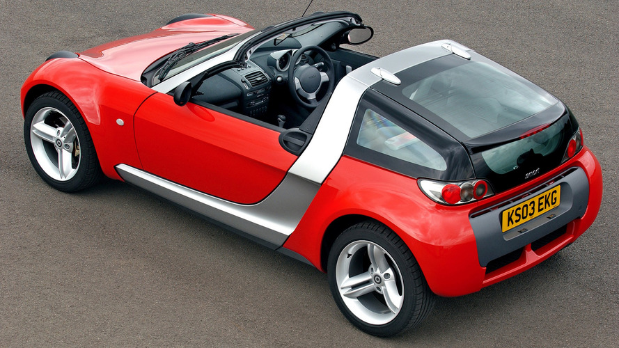 worst sports cars smart roadster. Black Bedroom Furniture Sets. Home Design Ideas
