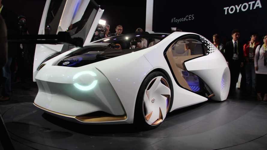 CES 2017 - Le Toyota Concept-i, ou le meilleur ami de l'homme