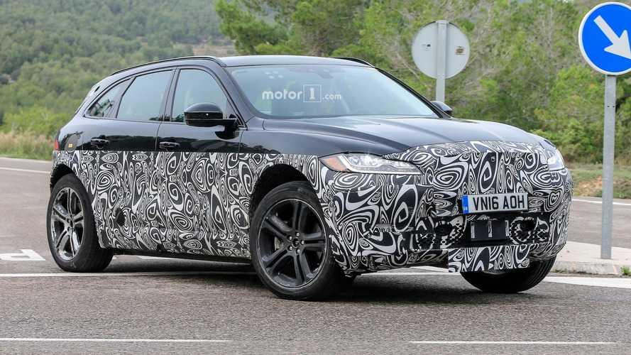 Jaguar I-Pace test aracı üretim çizgileri taşıyor