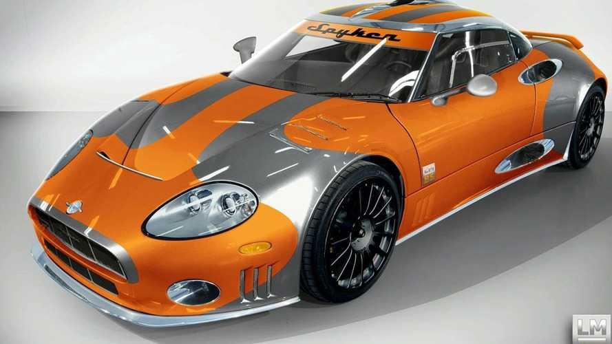 Spyker Introduces Spyker C8 Laviolette LM85