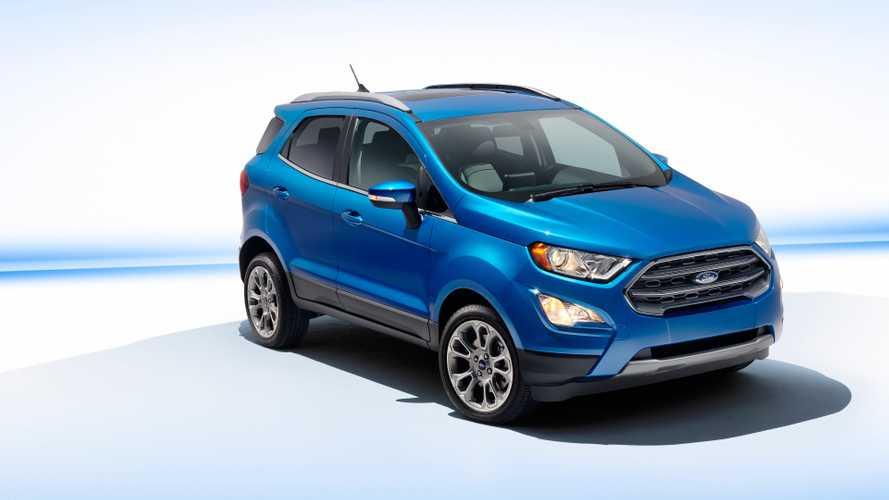 Ford Ecosport - Petite mise à jour américaine