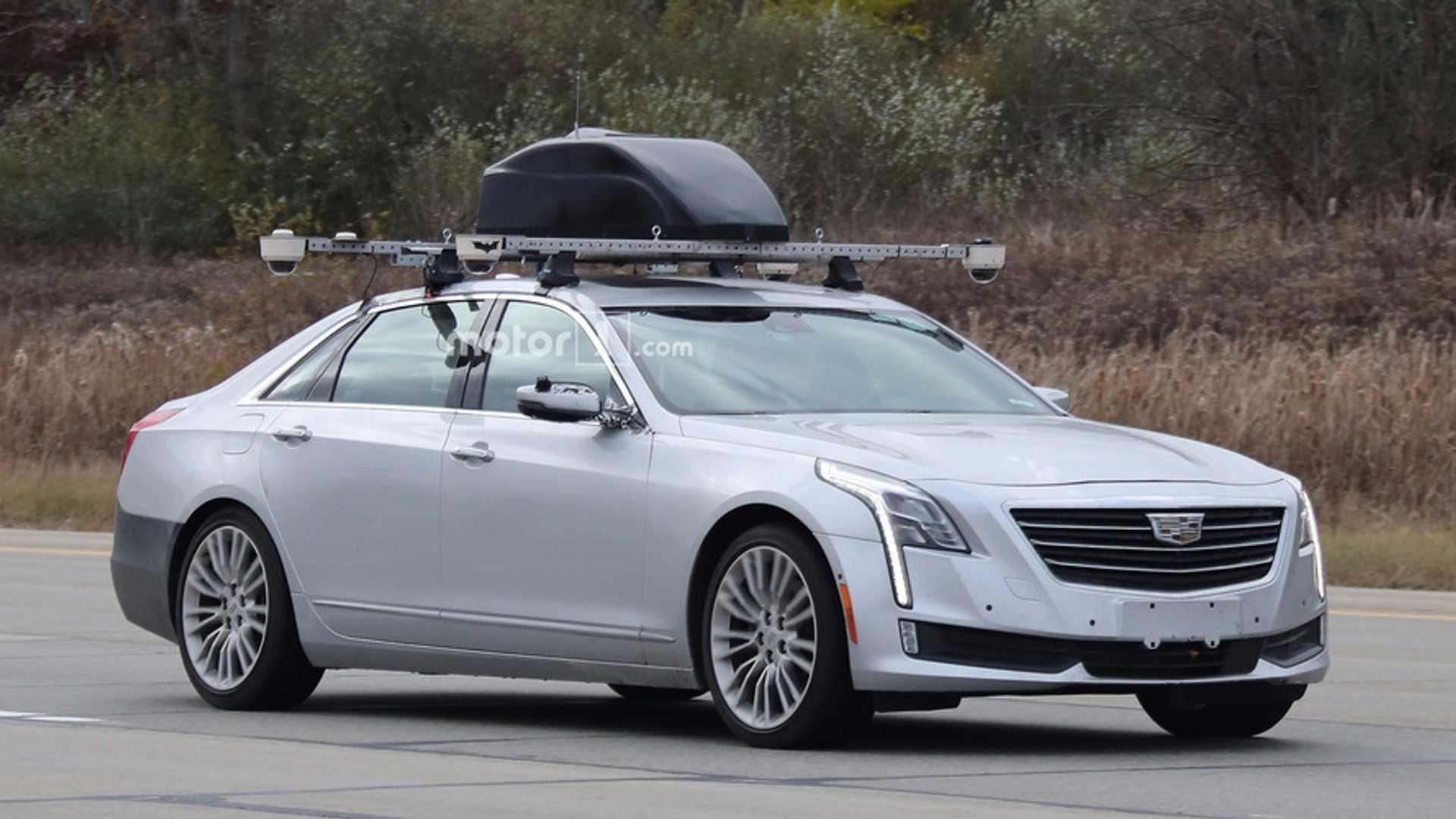 Cadillac CT6 tests Batman-branded Super Cruise semi-autonomous driving tech
