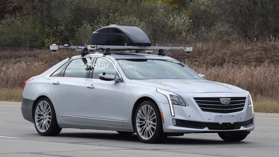 Cadillac CT6 tests Batman-branded Super Cruise semi-autonomous driving tech