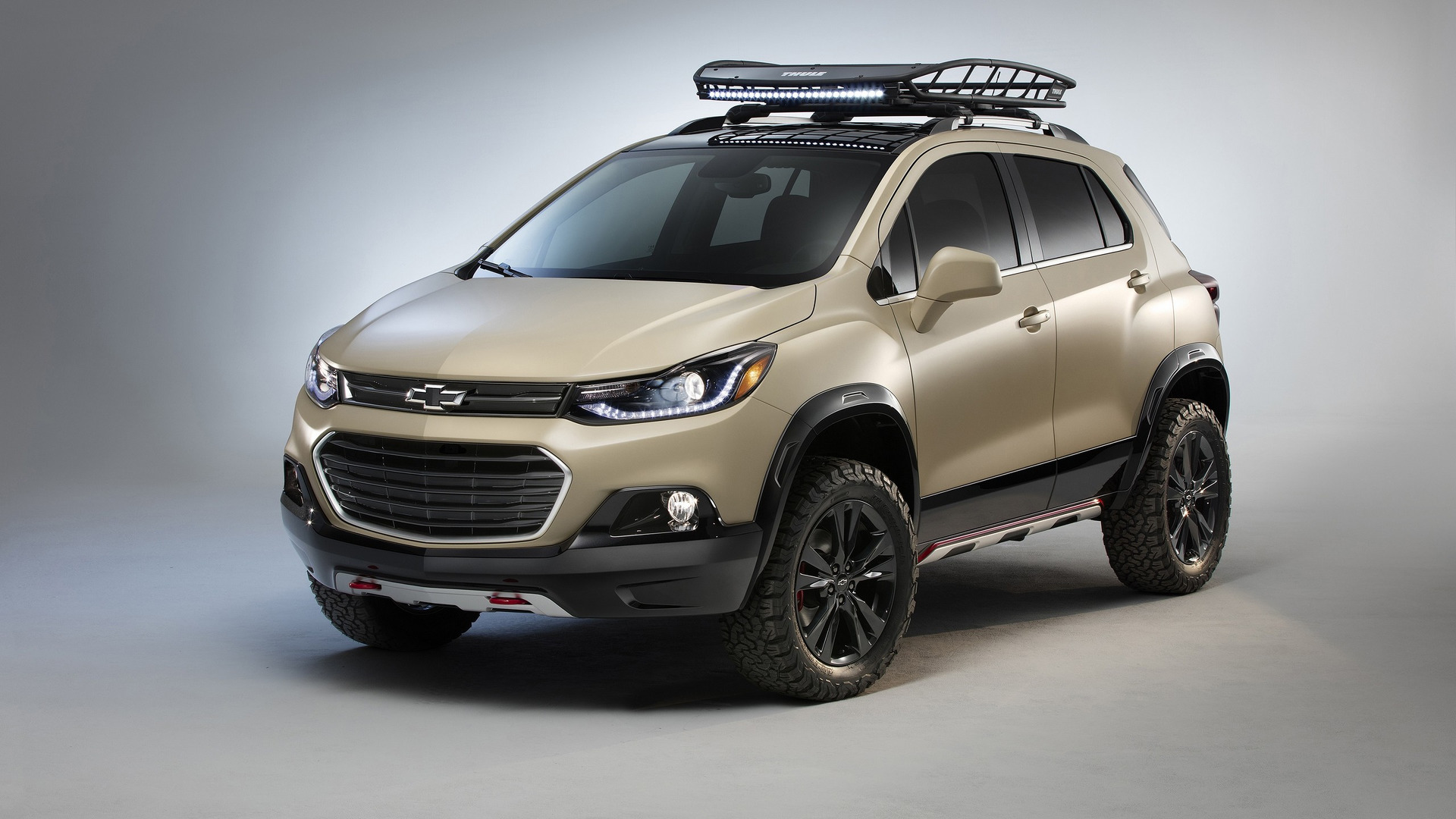 Chevy Trax Active Concept Arrives At Sema With Extra Off