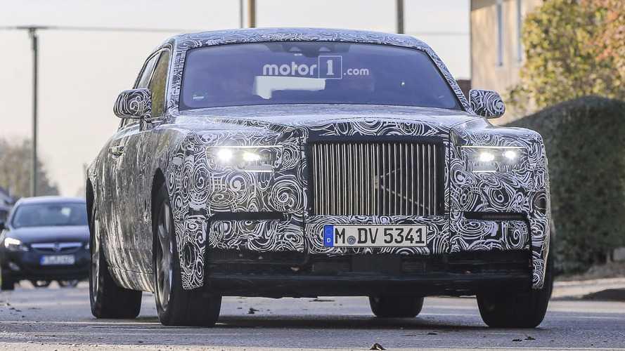 Quatre roues directrices pour la nouvelle Rolls-Royce Phantom