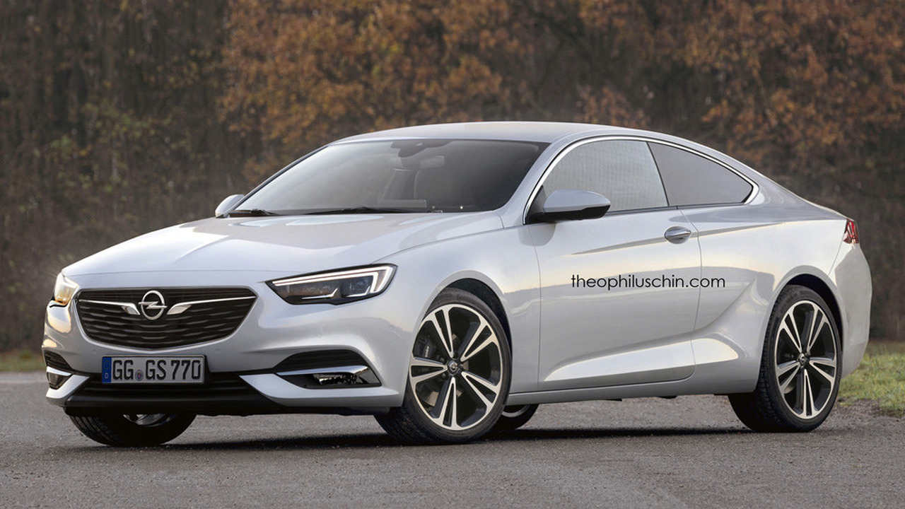 Opel Insignia Coupe rendering