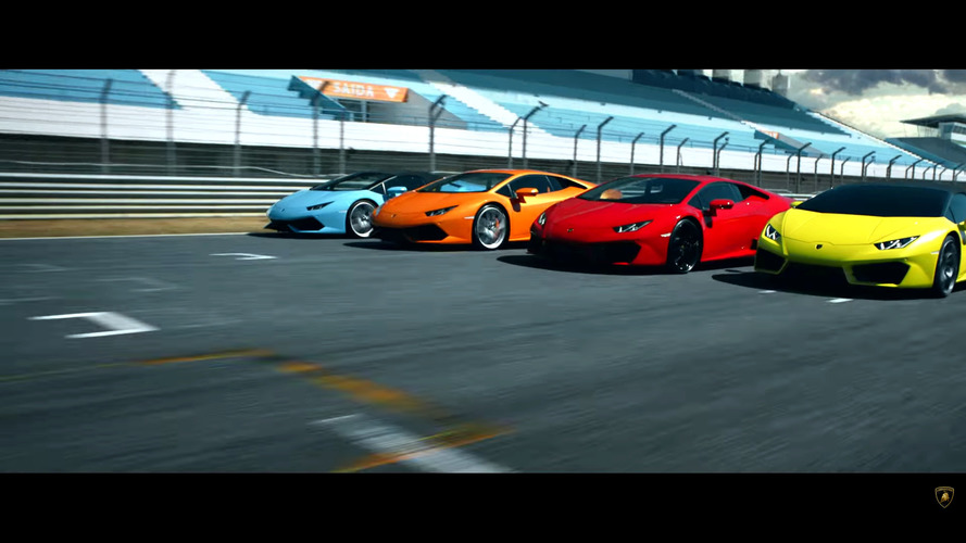 Lamborghini Huracan Range Video
