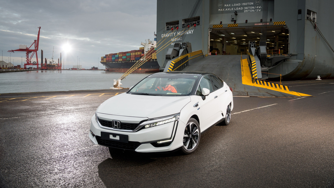 First Honda Fuel Cell in Europ