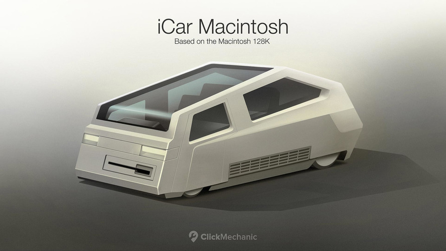 Apple Car Renderképek